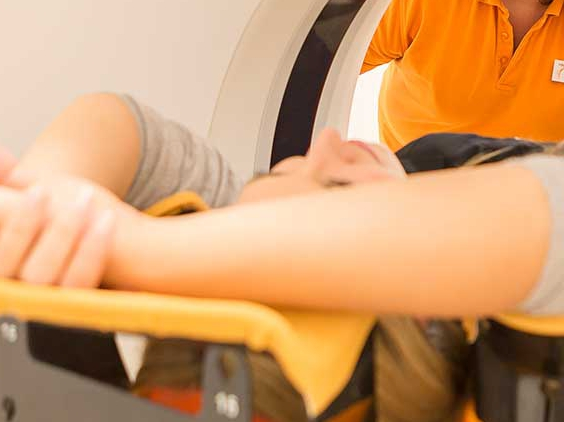 IGRT-Technik (Image-Guided Radiation-Therapy)